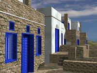 Τέσσερις κατοικίες, οικισμός Αρνάδος Τήνου