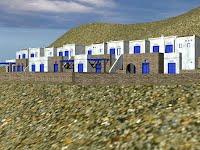 Τέσσερις κατοικίες - οικισμός Δύο Χωριά, Τήνου
